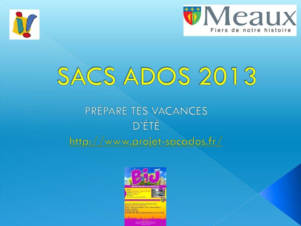 Prépare tes vacances D'été http://www.projet-sacados.fr/