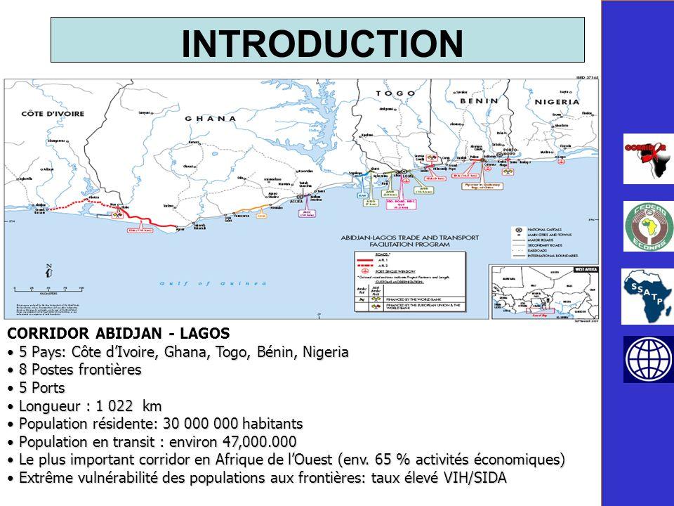 INTRODUCTION CORRIDOR ABIDJAN - LAGOS