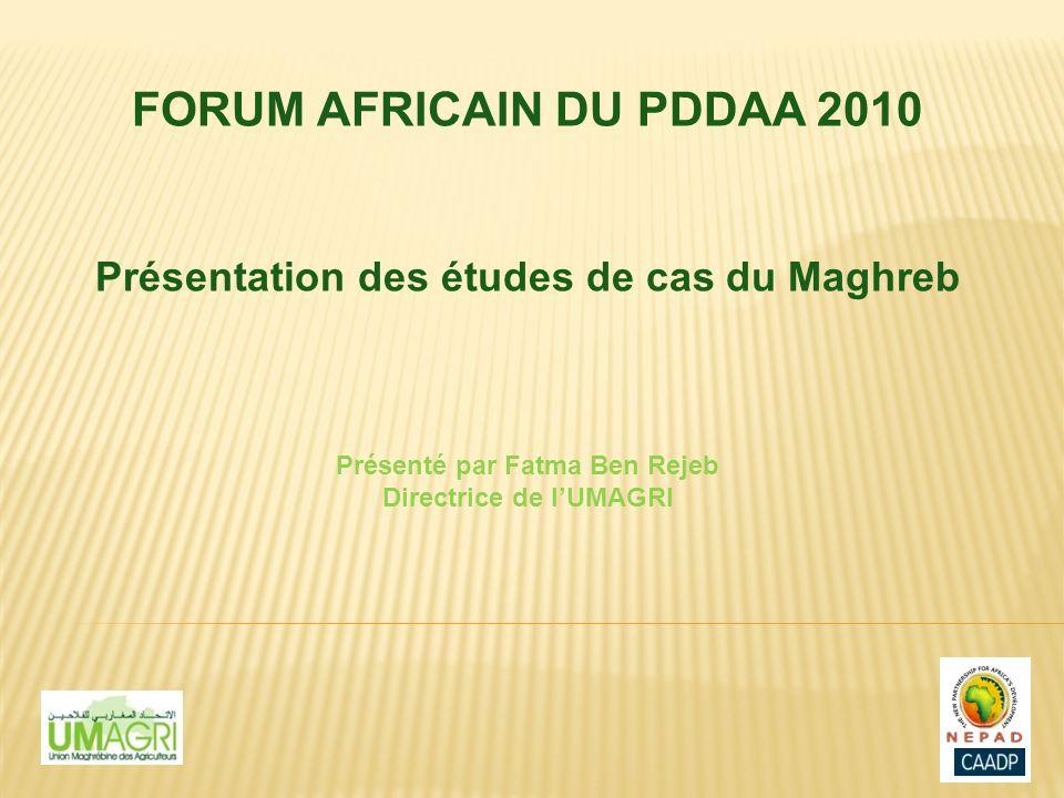 FORUM AFRICAIN DU PDDAA 2010