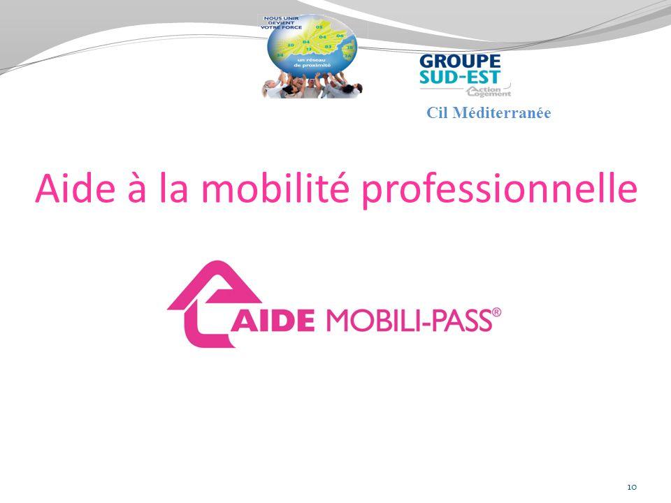 Aide à la mobilité professionnelle