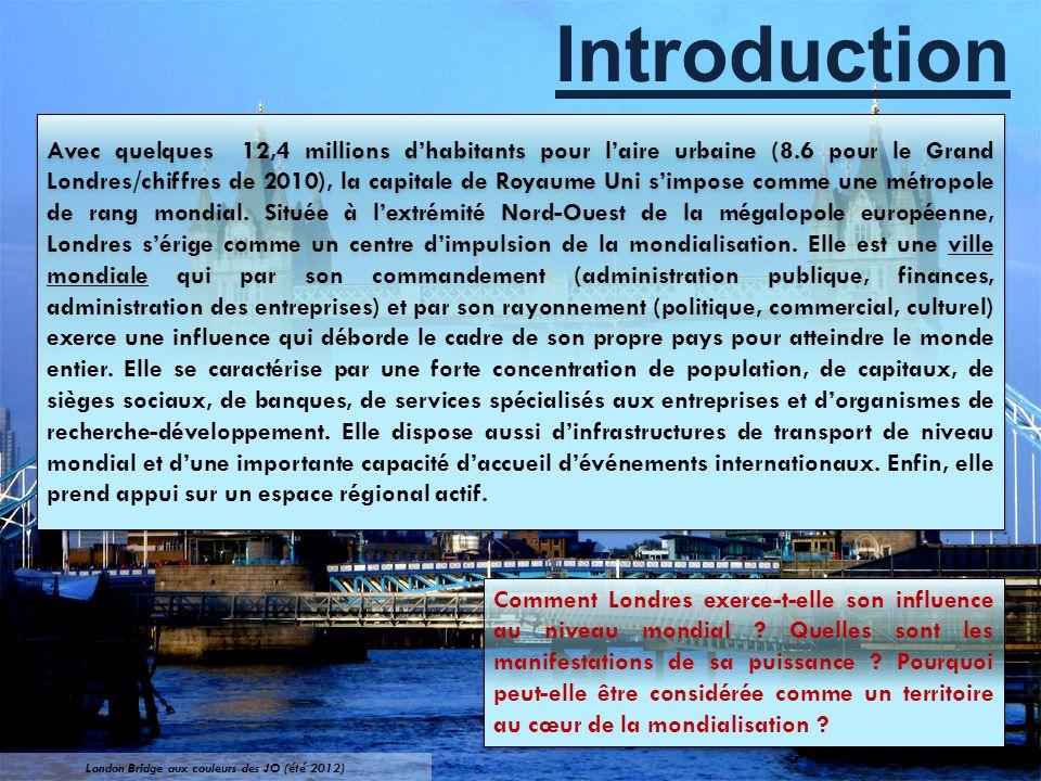 London Bridge aux couleurs des JO (été 2012)