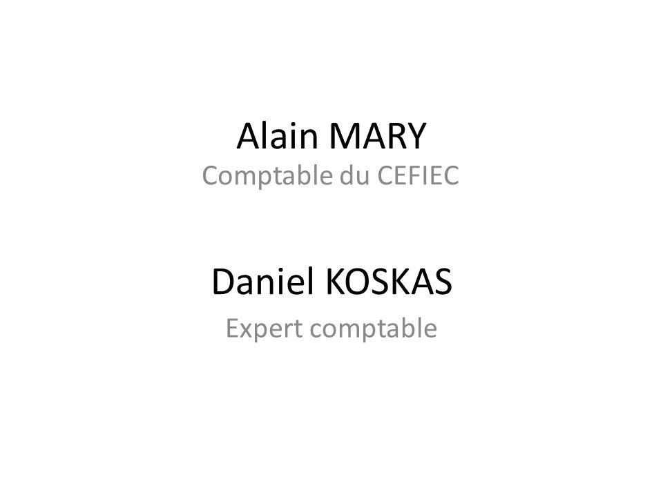 Alain MARY Daniel KOSKAS