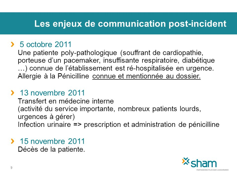 Les enjeux de communication post-incident