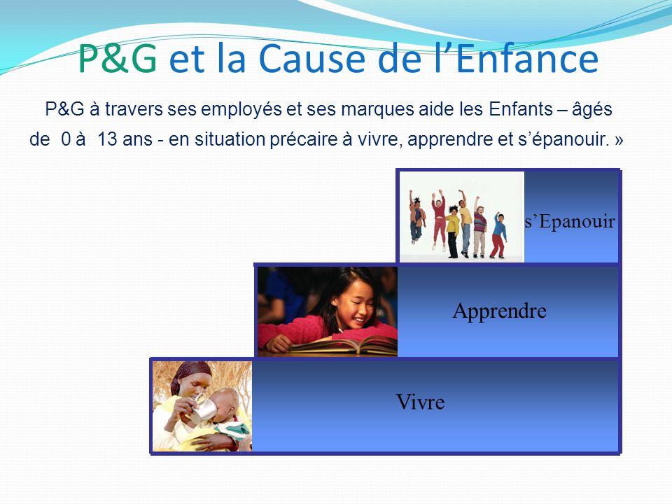 P&G et la Cause de l'Enfance