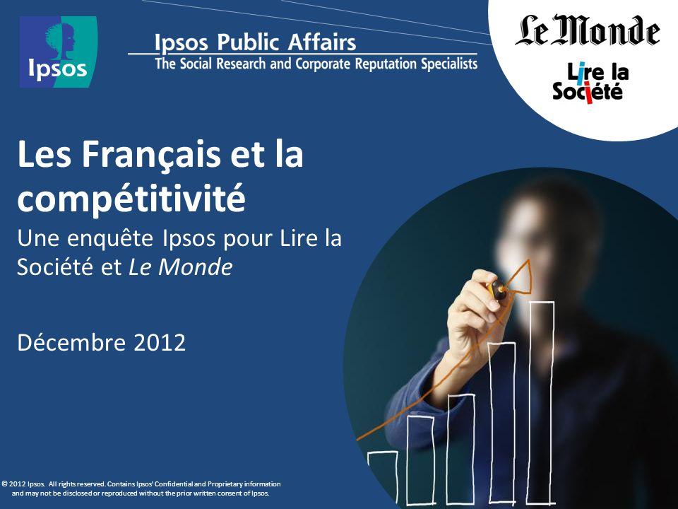Les Français et la compétitivité