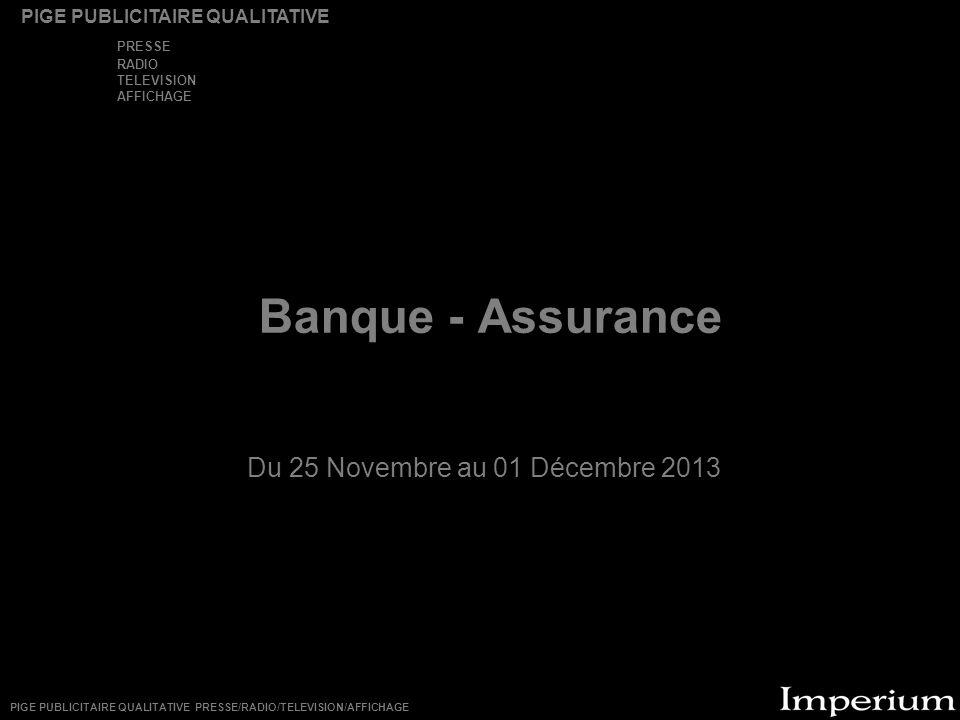Du 25 Novembre au 01 Décembre 2013