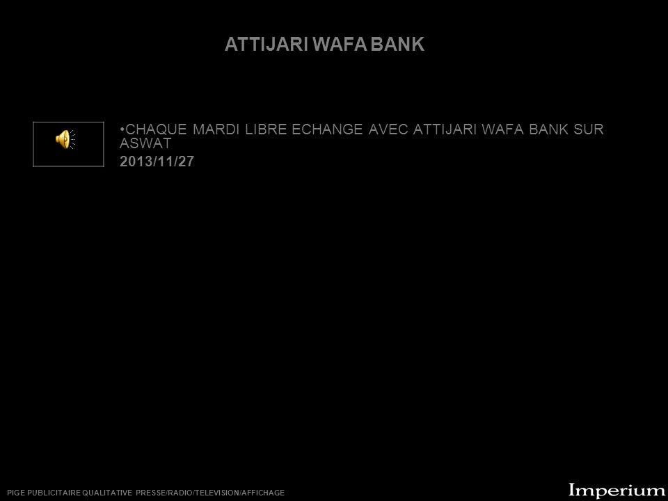 ********** ATTIJARI WAFA BANK