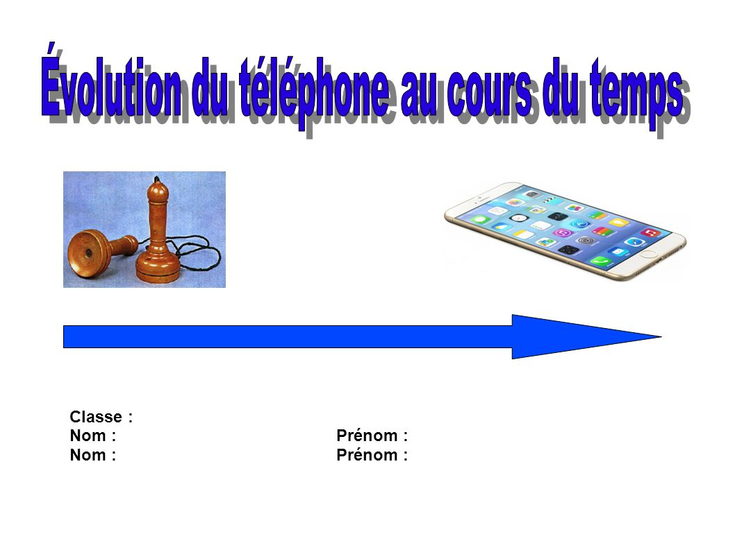 volution du t l phone au cours du temps ppt video. Black Bedroom Furniture Sets. Home Design Ideas