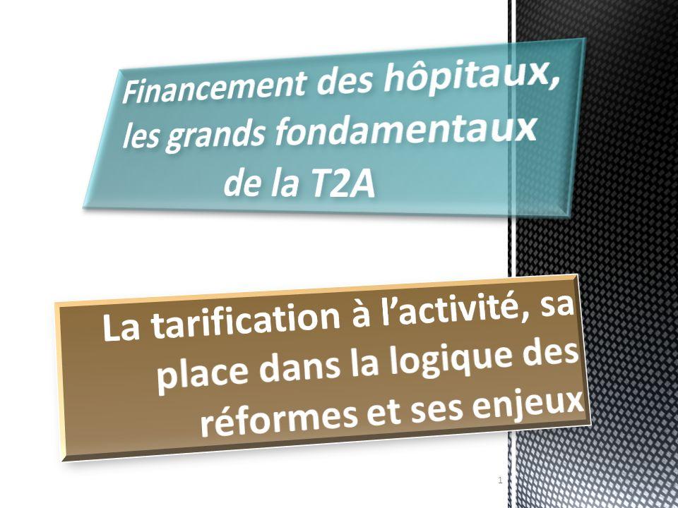 Financement des hôpitaux, les grands fondamentaux de la T2A