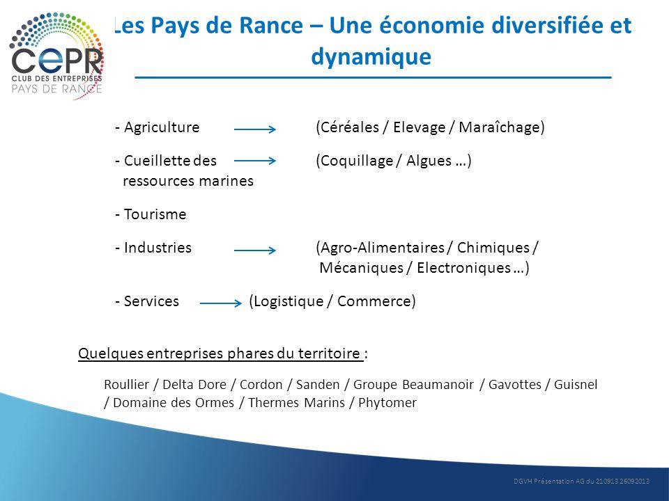 Les Pays de Rance – Une économie diversifiée et dynamique