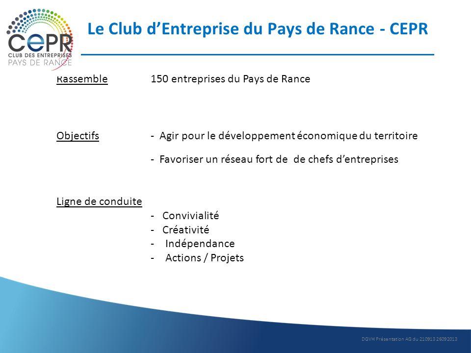 Le Club d'Entreprise du Pays de Rance - CEPR