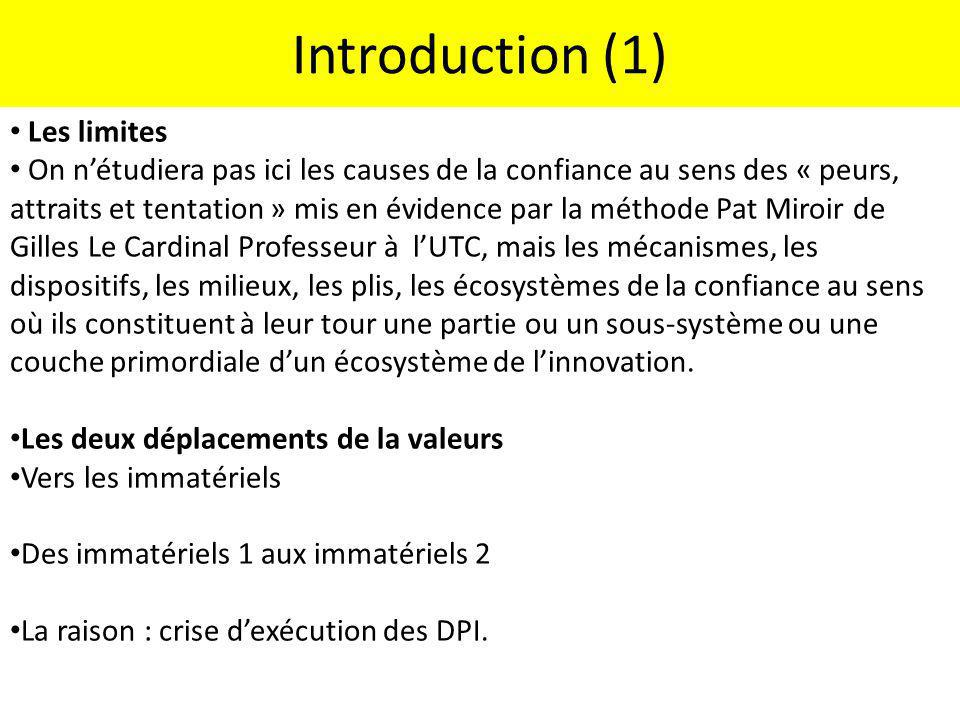 Introduction (1) Les limites