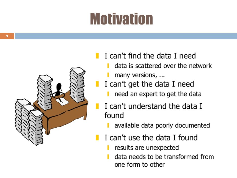 Motivation Data warehouse in KDD process - Knowledge Discovery in Databases