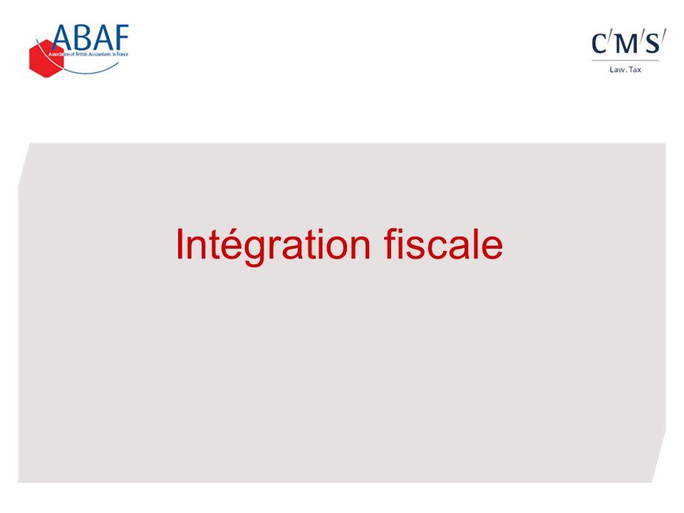 Intégration fiscale