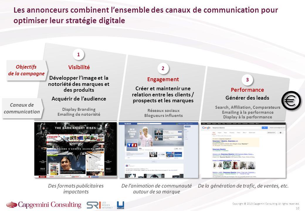 Les annonceurs combinent l'ensemble des canaux de communication pour optimiser leur stratégie digitale