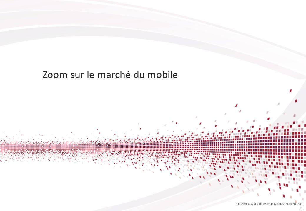 Zoom sur le marché du mobile
