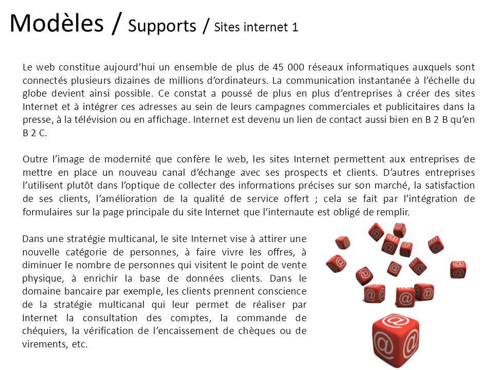 Modèles / Supports / Sites internet 1