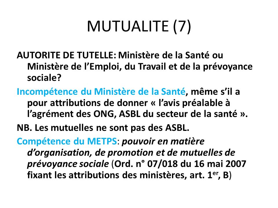 MUTUALITE (7)