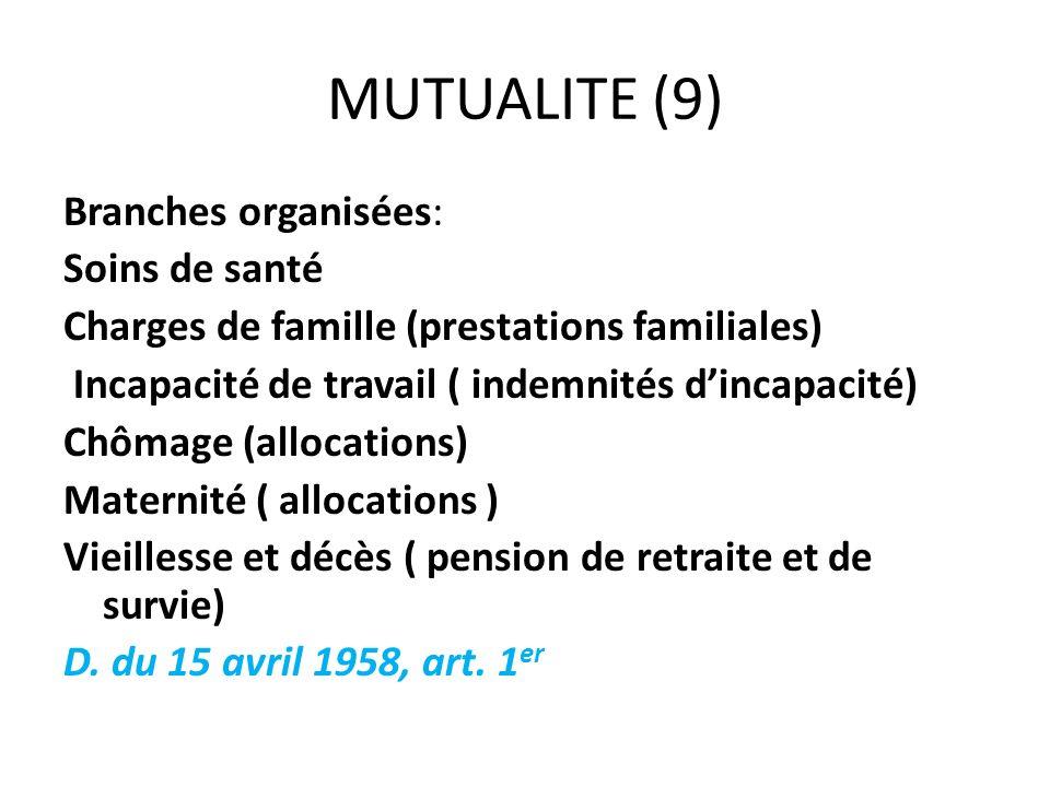 MUTUALITE (9)