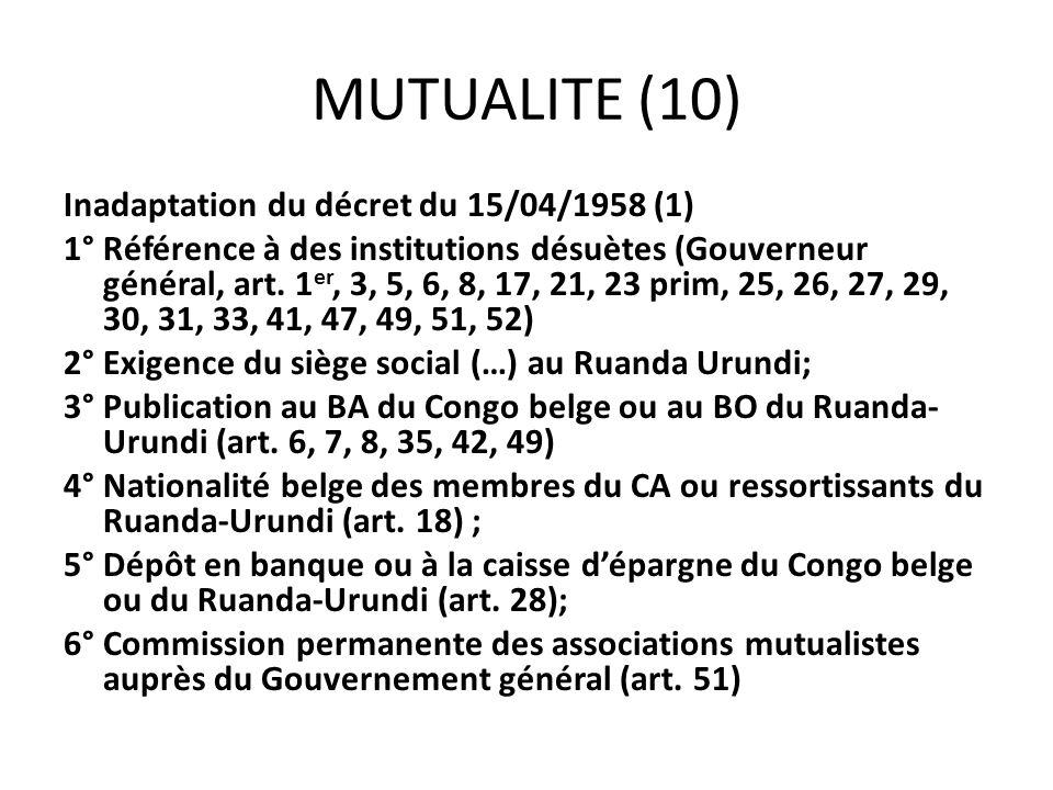 MUTUALITE (10)