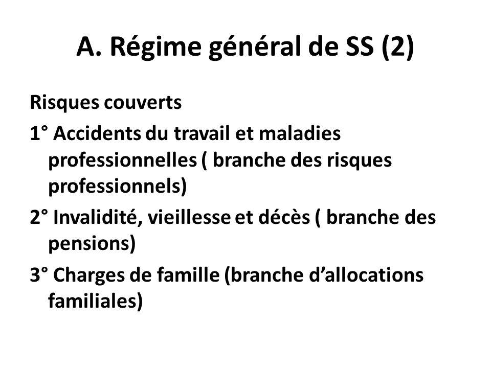 A. Régime général de SS (2)