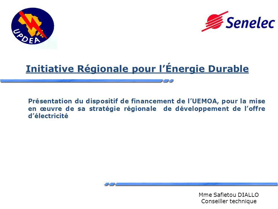 Initiative Régionale pour l'Énergie Durable