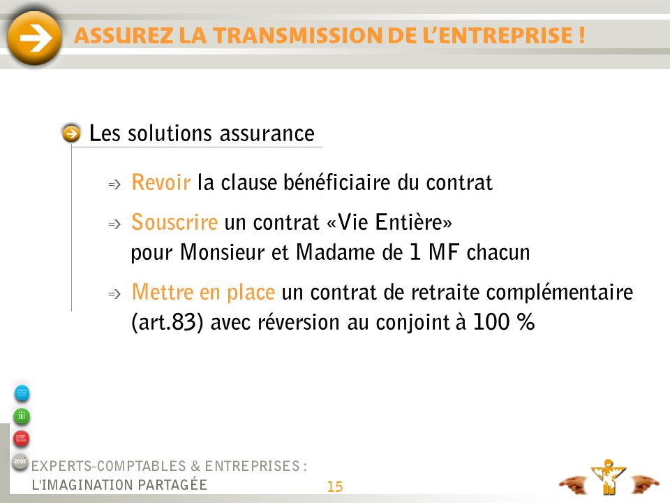 Les solutions assurances