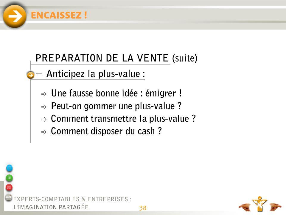 PREPARATION DE LA VENTE (fin) = réaliser un dossier de présentation :