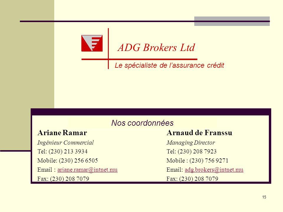 Le spécialiste de l'assurance crédit