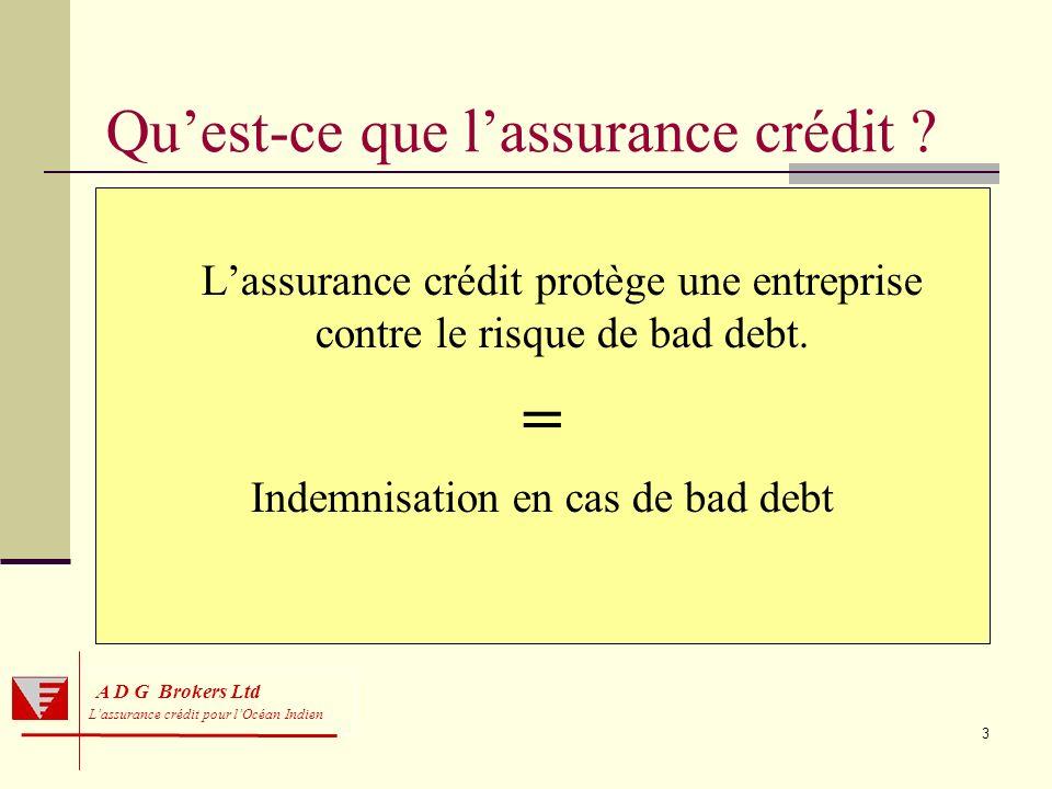 Qu'est-ce que l'assurance crédit