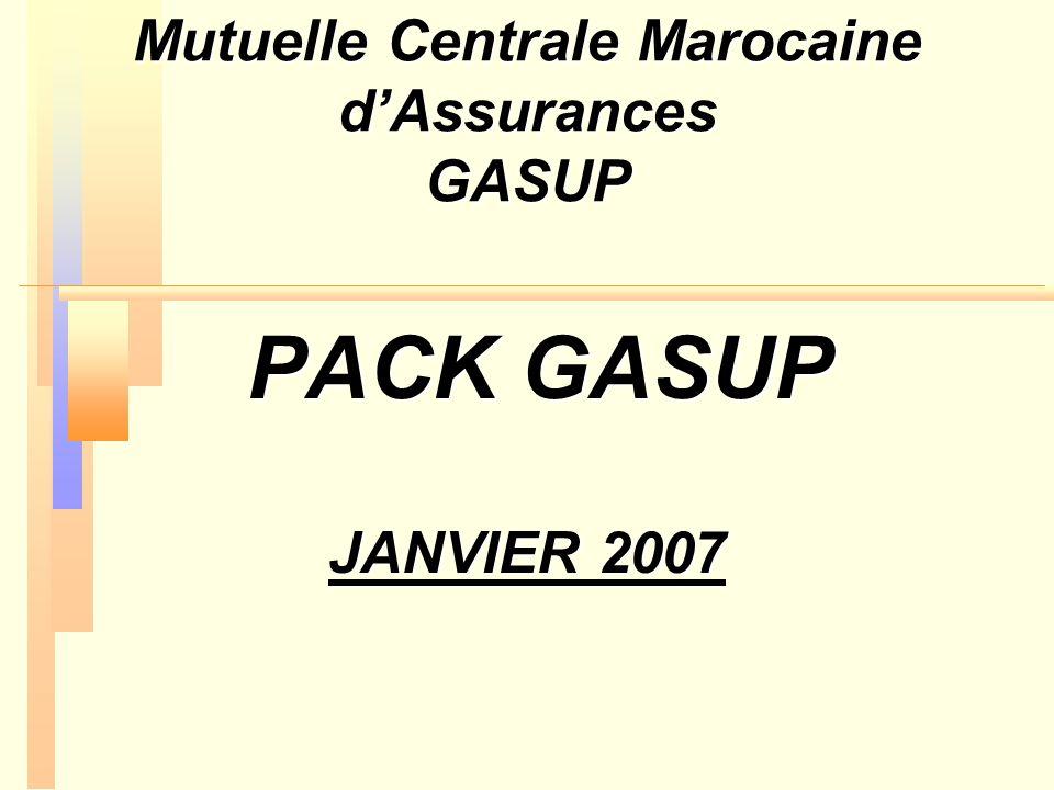 Mutuelle Centrale Marocaine d'Assurances GASUP