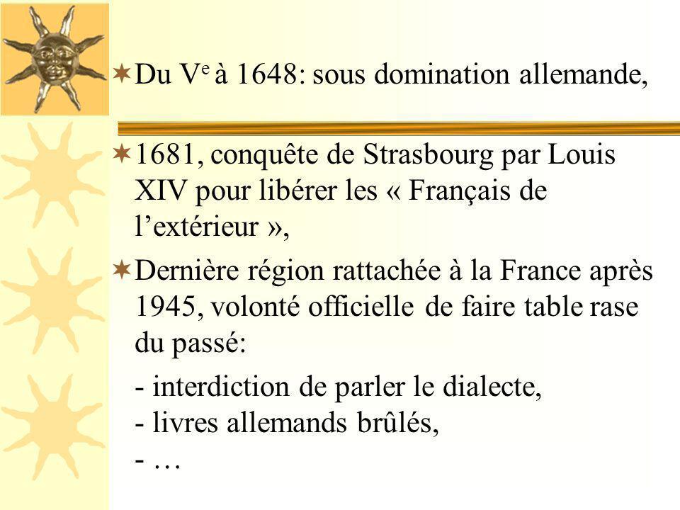 Du Ve à 1648: sous domination allemande,
