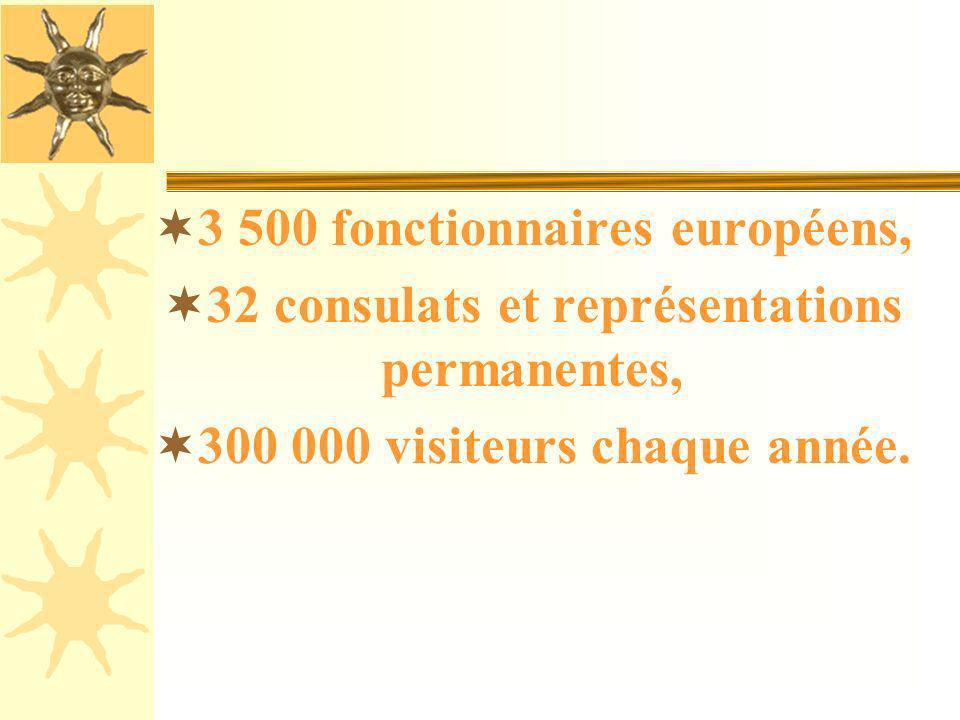 3 500 fonctionnaires européens,