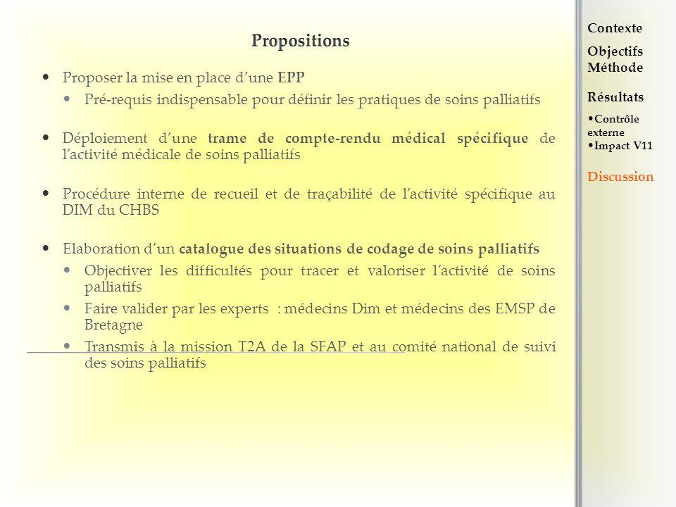 Propositions Proposer la mise en place d'une EPP