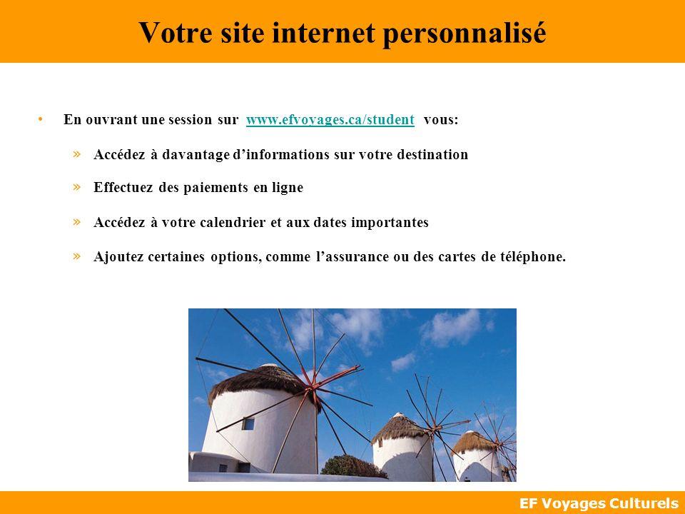 Votre site internet personnalisé