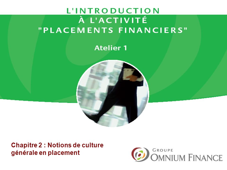 Culture générale finance