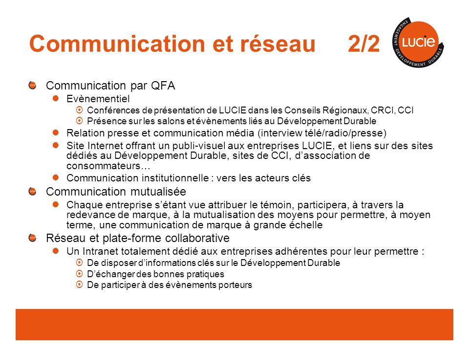 Communication et réseau 2/2
