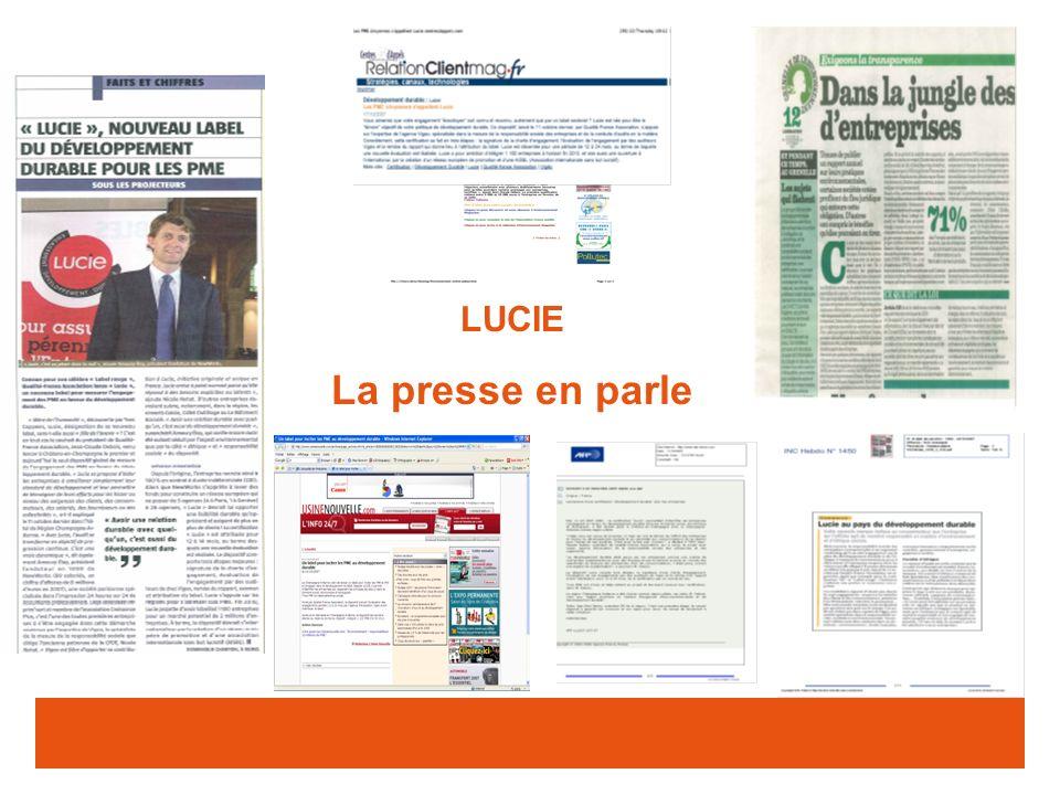 LUCIE La presse en parle