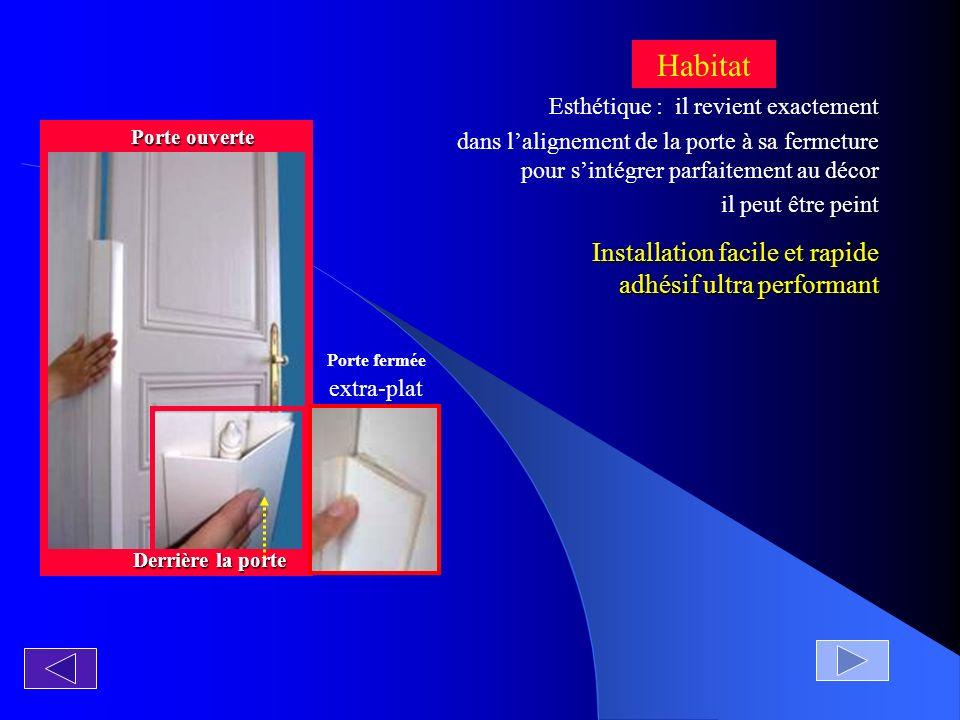 Installation facile et rapide adhésif ultra performant