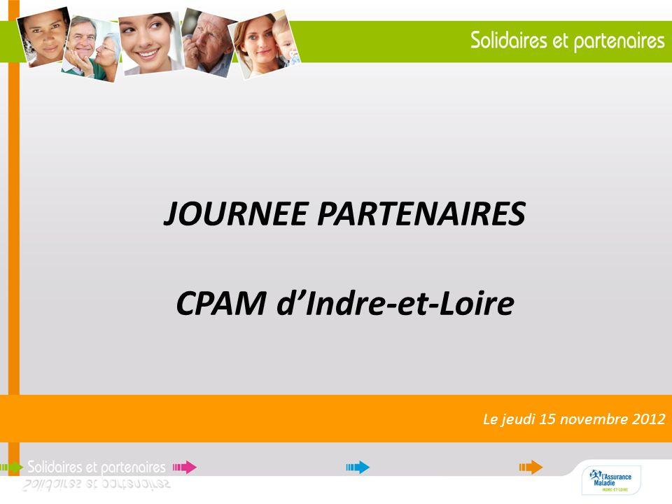JOURNEE PARTENAIRES CPAM d'Indre-et-Loire
