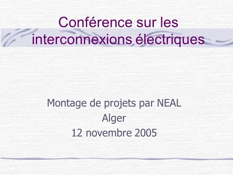 Conférence sur les interconnexions électriques