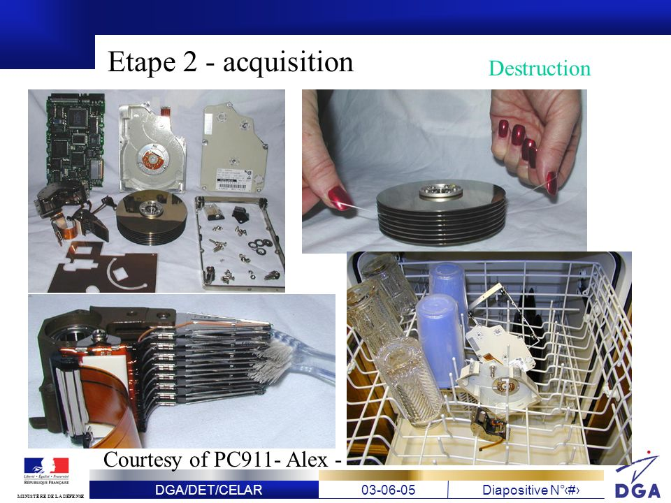 Etape 2 - acquisition Destruction Courtesy of PC911- Alex -
