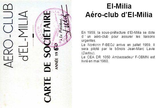 El-Milia Aéro-club d'El-Milia