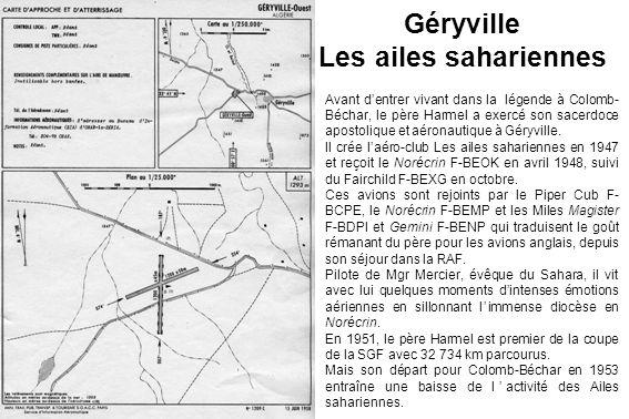Géryville Les ailes sahariennes