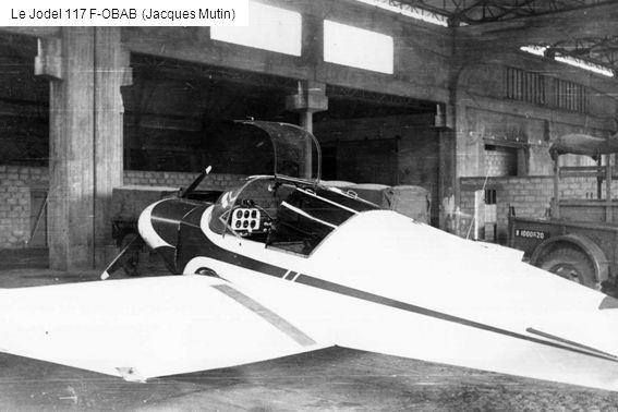 Le Jodel 117 F-OBAB (Jacques Mutin)