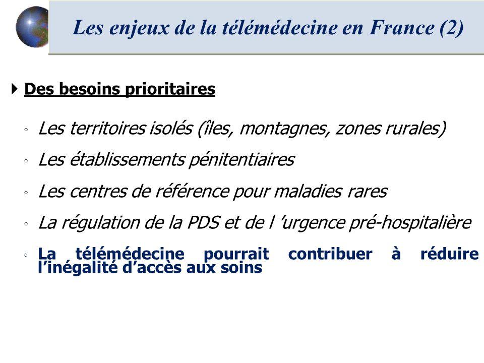 Les enjeux de la télémédecine en France (2)