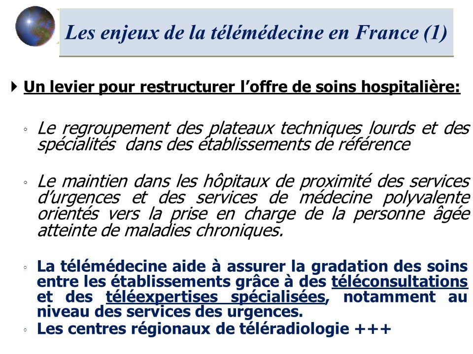 Les enjeux de la télémédecine en France (1)