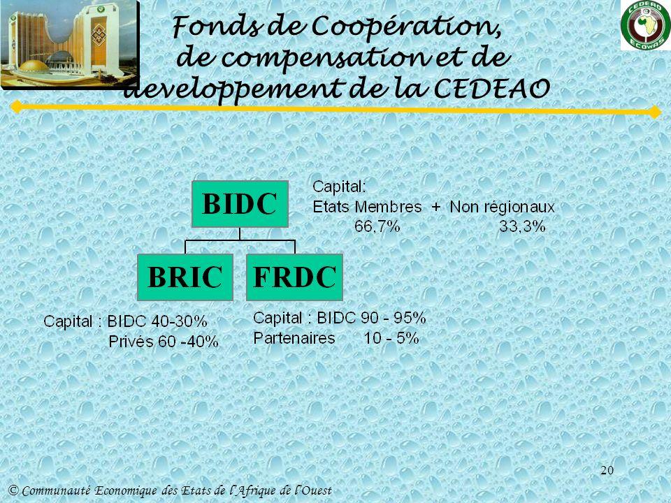 Fonds de Coopération, de compensation et de developpement de la CEDEAO