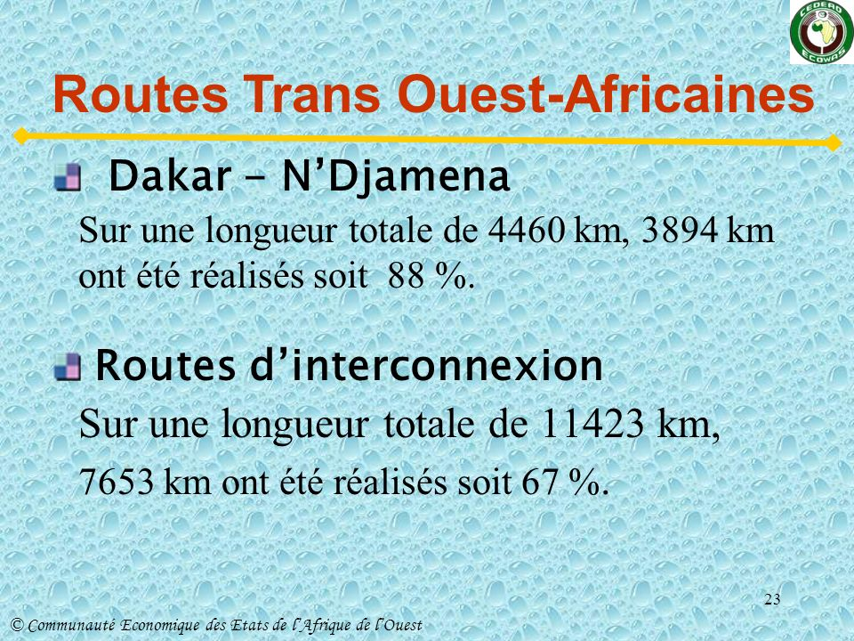 Routes Trans Ouest-Africaines