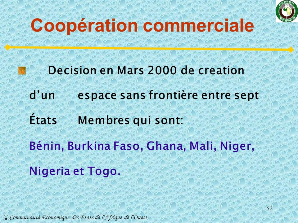 Coopération commerciale